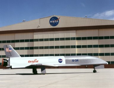 X-34 at NASA Dryden Flight Research Center