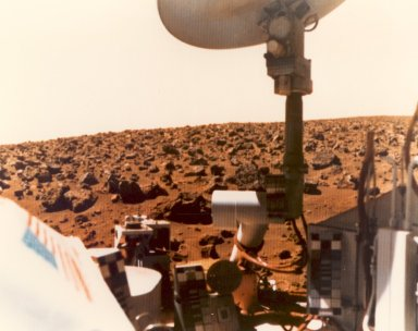 Viking 1 Picture of the Martian Surface