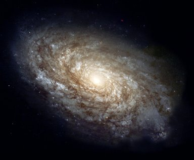 Magnificant Details in a Dusty Spiral Galaxy