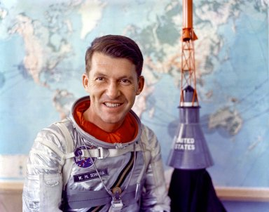 Mercury Astronaut Wally Schirra