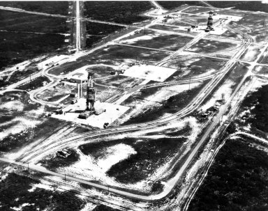 KENNEDY SPACE CENTER, FLA. - This view shows the launch pad that Explorer 1 launched from in 1958.