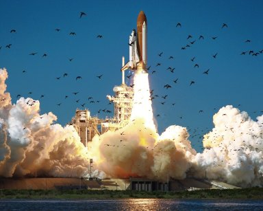 KENNEDY SPACE CENTER, FLA. -- STS-51-L: Challenger