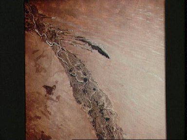 Senegal and Mauritania as seen from the Apollo 6 unmanned spacecraft