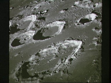 View of Goclenius and other craters