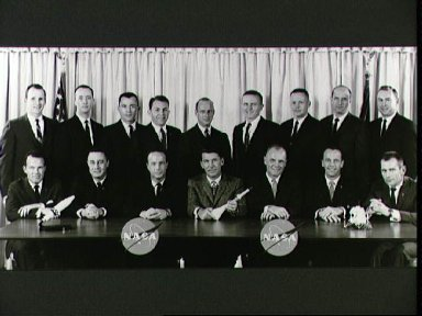 Portrait of Astronaut Groups 1 and 2