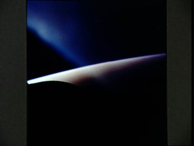 View of clouds over Indian Ocean as seen from the Gemini 3 spacecraft