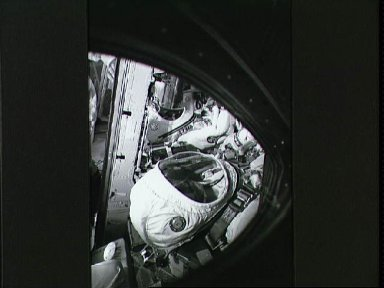 Not long before the final countdown of the Gemini 7 launch