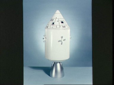 Engineering model of the Apollo Block-I Command and Service modules