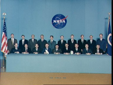 Portrait of Astronaut Group selected on April 4, 1966