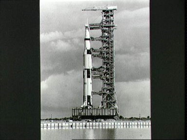 Apollo 8 vehicle on way to Pad A, Launch Complex 39
