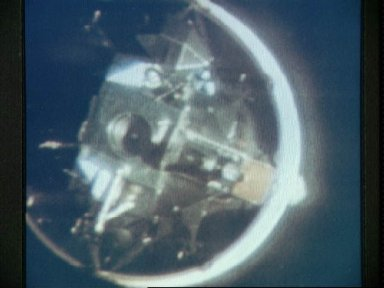 Apollo 10 Lunar Module attached to Saturn IVB stage