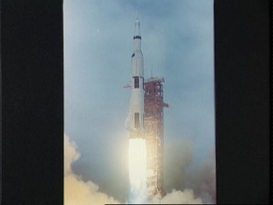 Launch of the Apollo 10 space vehicle