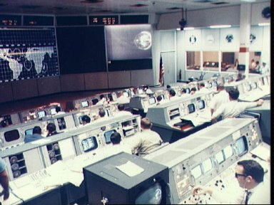 Overall view of Mission Operations Control in Mission Control Center