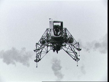 Lunar Landing Training vehicle piloted by Neil Armstrong during training