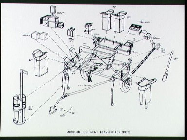 Drawings of the Modular Equipment Transporter and Hand Tool Carrier