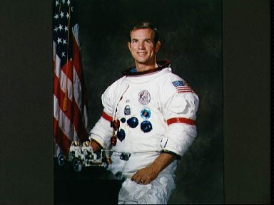 Portrait of Astronaut David R. Scott