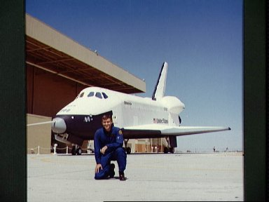 Astronaut Fred Haise first commander for Shuttle Approach and Landing Test