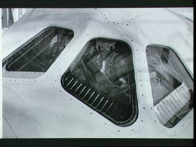 Astronauts Engle and Truly in cockpit of Orbiter 101 prior to takeoff