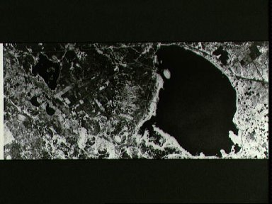 Earth observation photo taken by JPL with the Shuttle Imaging Radar-A