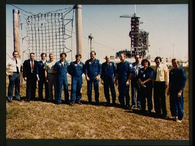 JSC Astronaut corps, STS-3 vehicle integration test team and others