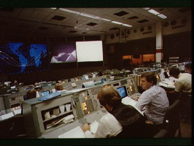 Activities in the MOCR during STS-5 mission