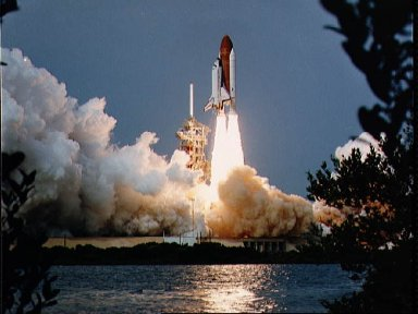 Launch of STS-9 Space Shuttle Columbia