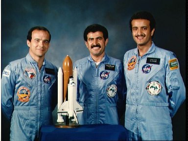 Portrait of STS 51-G Payload Specialists