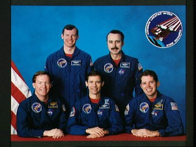 STS-28 Columbia, OV-102, Official crew portrait