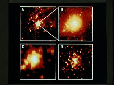 HUBBLE SPACE TELESCOPE (HST) IMAGERY OF THE 30 DORADUS NEBULA