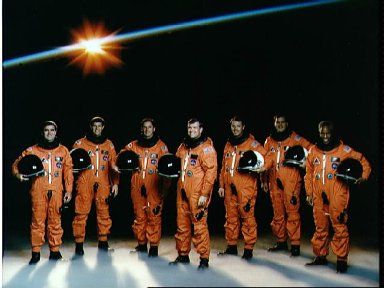 STS-39 Discovery, Orbiter Vehicle (OV) 103, Official crew portrait