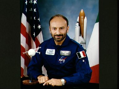 Official portrait of Franco Malerba, STS-46 payload specialist