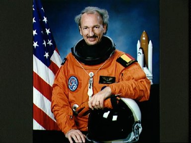 Official portrait of STS-45 Payload Specialist Dirk D. Frimout of Belgium