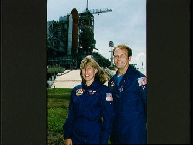 STS-47 crewmembers during KSC terminal countdown demonstration test (TCDT)
