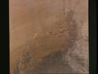Eroded volcanoes at Tibesti, Chad, Africa