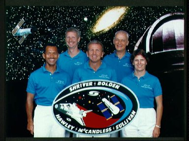 STS-31 Discovery, Orbiter Vehicle (OV) 103, Official crew portrait