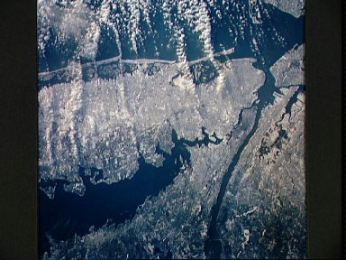 STS-42 Earth observation of New York City (NYC), New York