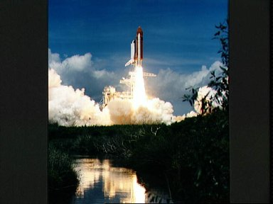 STS-43 Atlantis, OV-104, lifts off from KSC Launch Complex (LC) Pad 39A