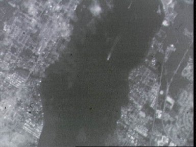 STS-44 Earth observation of ships in Florida harbor taken with M88-1 ESC