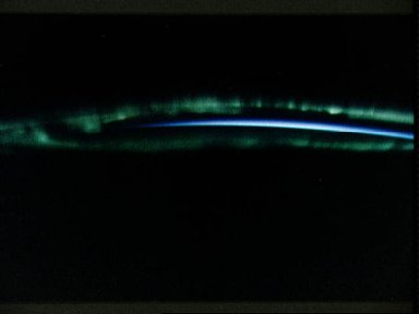 STS-45 Earth observation of the Aurora Australis or Southern Lights