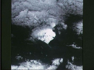 STS-48 ESC Earth observation of Heard Island in the South Indian Ocean