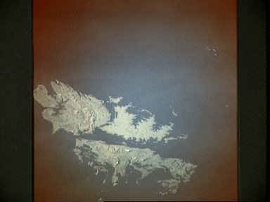 Color Infrared View of the Falkland Islands, UK