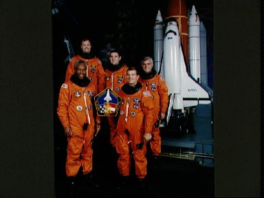 STS-53 Discovery, Orbiter Vehicle (OV) 103, Official crew portrait