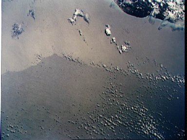 STS-55 Earth observation of the Timor Sea