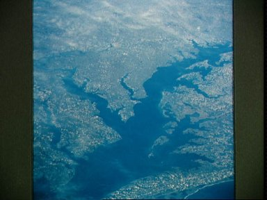 Chesapeake Bay as seen from STS-58