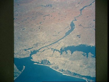 New York and New Jersey as seen from STS-58