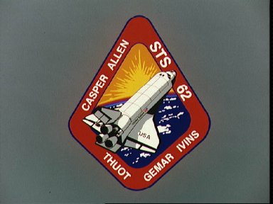 STS-62 crew patch