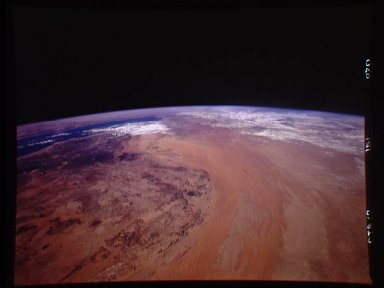 Northern Saudi Arabia as seen from STS-62