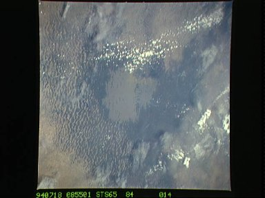 STS-65 Earth observation of Lake Chad, Africa, taken aboard Columbia, OV-102