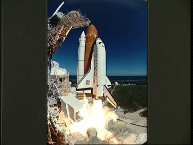 Launch of STS-66 Space Shuttle Atlantis