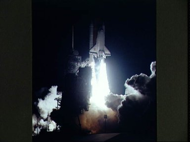 Liftoff of STS-67 Space Shuttle Endeavour